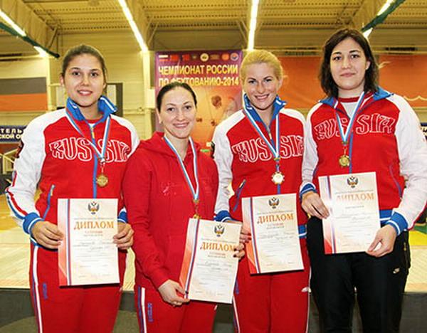 В подмосковной Лобне на чемпионате России по фехтованию отлично выступили р